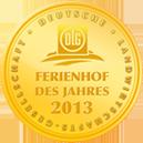 DLG Ferienhof des Jahres 2013