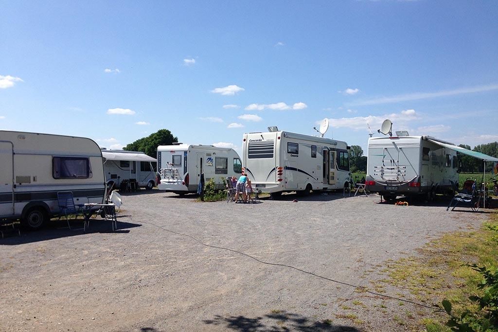 Campingplatz auf dem Gutshof Schulze Althoff