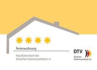 DTV-Klassifizierung Ferienwohnung – 4 Sterne