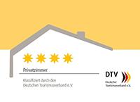 DTV-Klassifizierung Privatzimmer – 4 Sterne